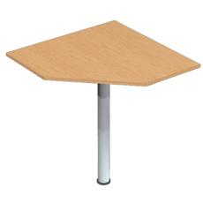 Стол приставной угловой на опоре