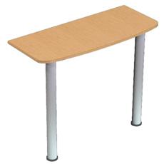 Стол приставной на опоре ОПРн-090