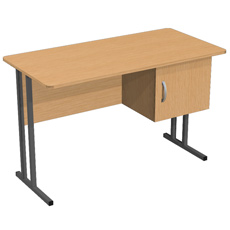 Стол письменный на металлокаркасе