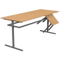 Стол обеденный под табурет 6 местный