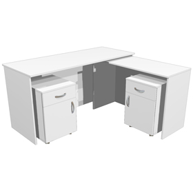 Стол для кабинета врача угловой СТ-02