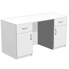 Стол для кабинета врача с 2 ящиками