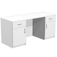 Стол для кабинета врача с 2 ящиками СТ-10-160
