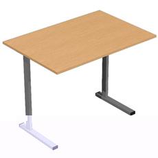 Письменный стол на мет. карк. ОСТм-100