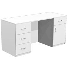 Стол для кабинета врача с 4 ящиками СТ-11-150