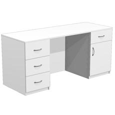 Стол для кабинета врача с 4 ящиками
