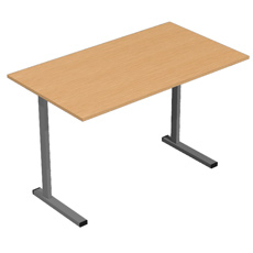 Письменный стол на мет. карк.