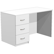 Стол для кабинета врача с 3 ящиками СТ-14-120