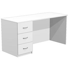 Стол для кабинета врача с 3 ящиками СТ-14-150