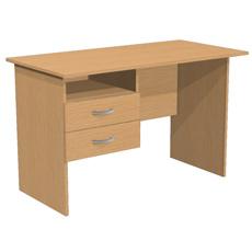 Стол письменный с 2 ящиками и нишей