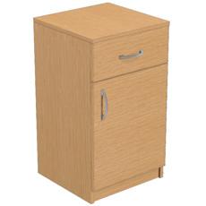 Тумба приставная с 1 ящиком