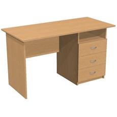 Письменный стол с 3 ящ. и нишей ОСТ-130-т3я