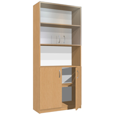 Шкаф-стеллаж для документов ШДДС-180-080