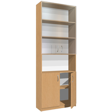 Шкаф-стеллаж для документов ШДДС-215-080