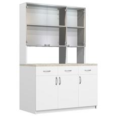 Шкаф - стеллаж лабораторный