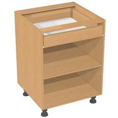 Кухонная тумба б/ф с 1 ящиком ШС1яп-60