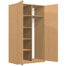 Шкаф платяной распашной ШДО-180-100