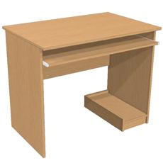 Стол компьютерный с полкой под СБ