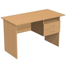 Письменный стол с 2 ящ. и нишей ОСТ-120-2ям