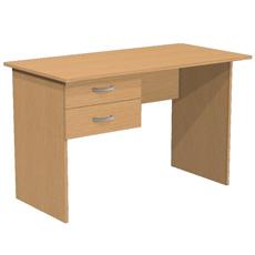 Стол письменный с 2 ящиками С1Т2
