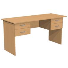 Стол письменный с 4 ящиками С2Т2