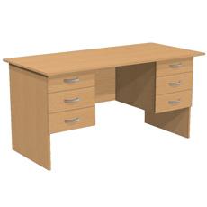 Стол письменный с 6 ящиками