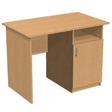 Письменный стол с тумбой ОСТ-100-т