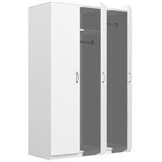 Шкаф для одежды трехдверный ШК-03